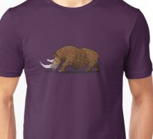 Prehistoric Pixels - Woolly Rhino  Unisex T-Shirt