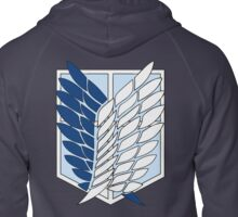 Scouting Legion Symbol (back of the shirt) Zipped Hoodie