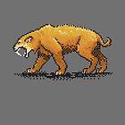 Prehistoric Pixels - Smiledon  by SevenHundred
