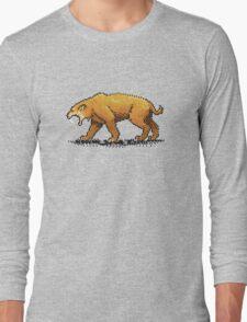 Prehistoric Pixels - Smiledon  Long Sleeve T-Shirt