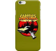 Sabotage T Shirt 2.  iPhone Case/Skin