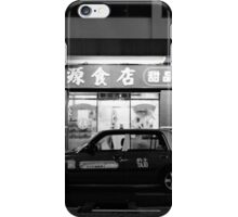 Taxi! Queen's Road West, Hong Kong iPhone Case/Skin