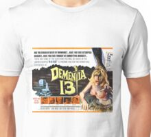 Dementia 13 Classic Horror Movie Poster Unisex T-Shirt