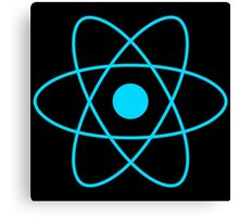 React JS Logo Canvas Print