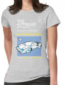 Owners' Manual - Automan Car - T-shirt Womens Fitted T-Shirt