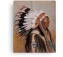 Brule-Sioux Chief Canvas Print