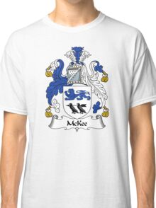 McKee Coat of Arms / McKee Family Crest Classic T-Shirt