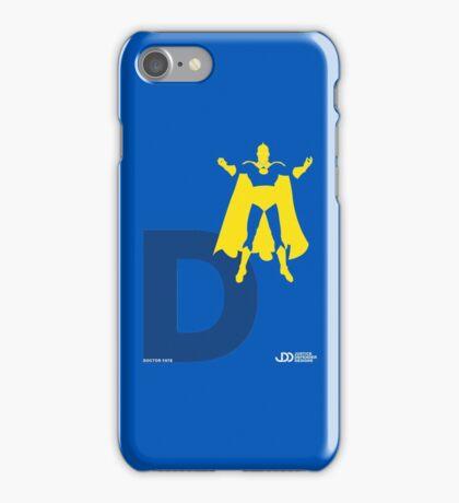 Doctor Fate - Superhero Minimalist Alphabet Clothing iPhone Case/Skin