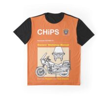 Owners' Manual - CHiPs - T-shirt Graphic T-Shirt