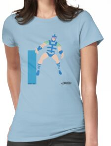 Infinity Man - Superhero Minimalist Alphabet Clothing Womens Fitted T-Shirt