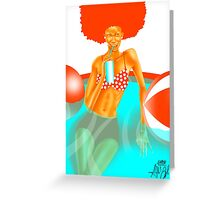 Refreshed Greeting Card