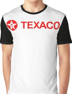 TEXACO GAS AND OIL VINTAGE Graphic T-Shirt