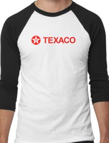 TEXACO GAS AND OIL VINTAGE Men's Baseball ¾ T-Shirt