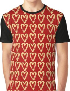 Hearts Of Gold Graphic T-Shirt