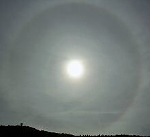 Sun Halo by Astrid Ewing Photography