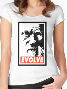 Evolve Women's Fitted Scoop T-Shirt