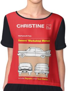 Owners' Manual - Christine - T-shirt Chiffon Top
