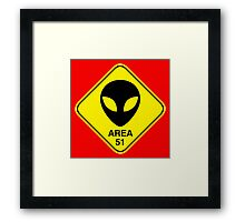 Area 51 Framed Print
