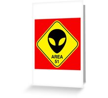 Area 51 Greeting Card