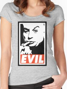 Dr. Evil Women's Fitted Scoop T-Shirt