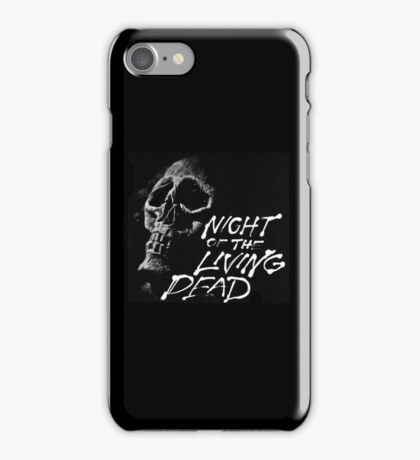 Night of the Living Dead classic Zombie design iPhone Case/Skin