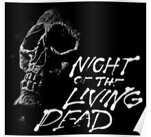 Night of the Living Dead classic Zombie design Poster