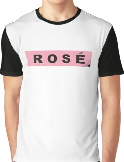 ROSE BLACKPINK SQUARE ONE Graphic T-Shirt