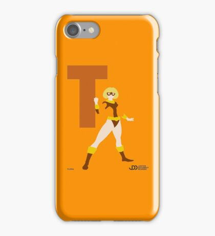 Terra - Superhero Minimalist Alphabet Clothing iPhone Case/Skin