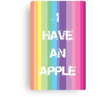 I have an Apple Canvas Print