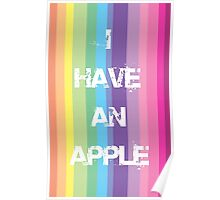 I have an Apple Poster