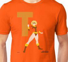Terra - Superhero Minimalist Alphabet Clothing Unisex T-Shirt