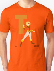 Terra - Superhero Minimalist Alphabet Clothing T-Shirt