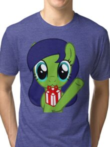 Merry Day Present Tri-blend T-Shirt