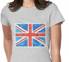 Glam Brit Shirt Womens Fitted T-Shirt