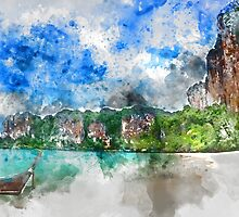 Thailand Tropical Paradise by TinaGraphics
