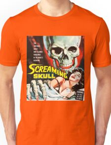 The Screaming Skull vintage movie poster Unisex T-Shirt