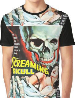 The Screaming Skull vintage movie poster Graphic T-Shirt