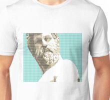Greek Statue #1 - Light Blue Unisex T-Shirt