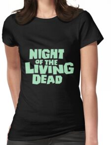 Night of the Living Dead logo Womens Fitted T-Shirt
