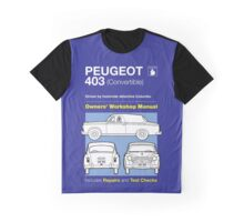 Owners' Manual - Columbo - T-shirt Graphic T-Shirt