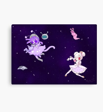 ☆space time☆ Canvas Print