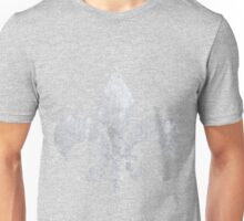 Abstract silver paper Unisex T-Shirt