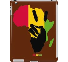 PEACE IN AFRICA iPad Case/Skin