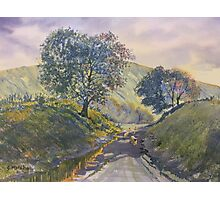 Evening Stroll in Millington Dale Photographic Print
