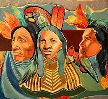 """""""Shamans"""" painting by Alina Sokolova, Ukraine by ArtOnlineUkr"""