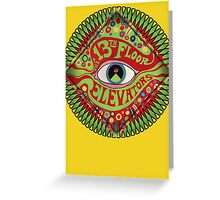 The 13th Floor Elevators Greeting Card