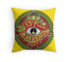 The 13th Floor Elevators Throw Pillow