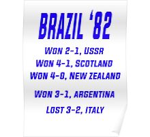 BRAZIL 1982 Poster