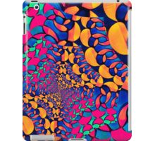 Psychedelic Abstract Twisted  Pattern  iPad Case/Skin
