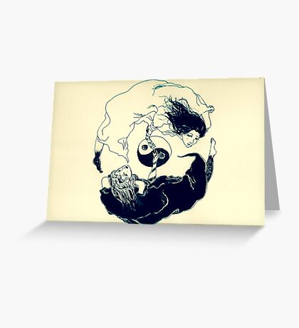 YinYang  Greeting Card
